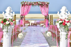 Wedding open air hall